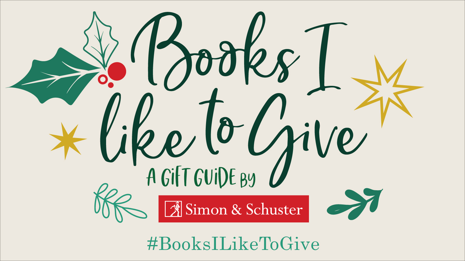 Simon & Schuster Holiday Gift Guide